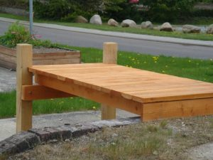 miljørigtig bådebro eller badebro