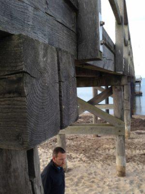 Renoveringaf gangbro og badebro gang- eller badebro