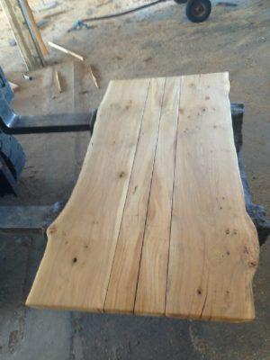 Plankeborde i egetræ