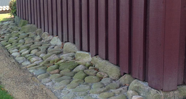 Vægbeklædning klimaskærm