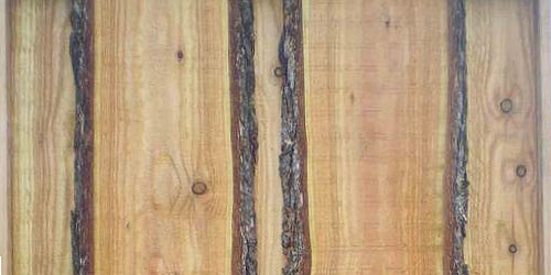 en-på-to i lærketræ med kalmarbrædder
